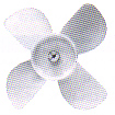 6in Plastic Fan Blade