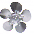 8in Metal Fan Blade